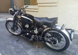 1949 1953 vincent rapide black shadow motorcycle for sale