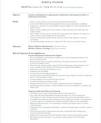 Executive Assistant Resume Example – Resume Sample Directory