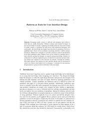 Flex Design Patterns Pdf Pdf Patterns As Tools For User Interface Design