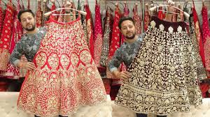 Latest Lehenga Designs 2019 With Price Famous Designer Lehenga In Retail 2018 2019 Kundan Zari Nakshi Swarovski Work Bridal Lehenga
