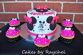 Pink And Black Minnie Mouse Decorations Black White And Pink Minnie Mouse Party Supplies Party Supplies