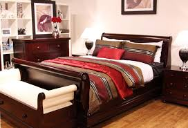 Tallboy Bedroom Furniture Antoinette Mahogany Tallboy Chest Of Drawers