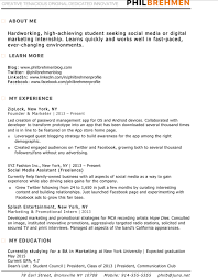 Digital Marketing Resume Template Best Of 24 Best Digital Marketing CV Examples Templates