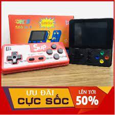 Vé Trở Về tuổi thơ ] Máy chơi game cầm tay mini sup 500 in 1 bản nâng cấp  nhiều hơn sup 400 -Tay cầm chơi game kết nối tivi TV -
