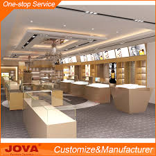 Custom Made Elegant Jewellery Shop Furniture Counter Design For Simple Jewelry Store Interior Design Plans
