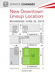 downtown lineup locations 2017