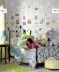 Decoration: Blank Frame Wallpaper For Teen Bedroom - Wall Decor