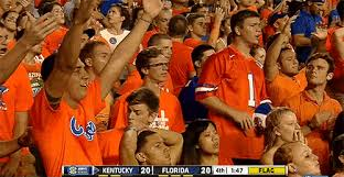 sports fans cheering gif. florida fan is pissed off sports fans cheering gif a