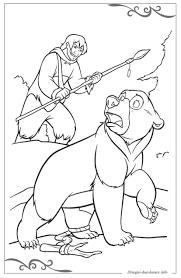 Koda Fratello Orso Disegni Per Bambini Da Stampare E Colorare
