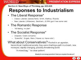 history of the modern world industrial revolution new ways of 4 responses