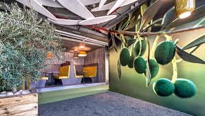 google tel aviv office tel. Coffee Shop Interior Decoration And Architecture In Google Tel Aviv Office / Camenzind Evolution L