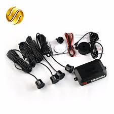 sound system kit. 4 sensors buzzer 22mm car parking sensor kit reverse backup radar sound alert indicator probe system d