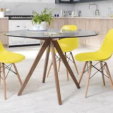 Round Glass Kitchen Table Round Glass Kitchen Table S Nongzico