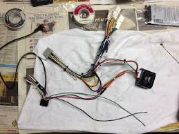 new head unit install notes wiring a tr7 module and axxess aswc done the ering zip tied up to try and keep it neat