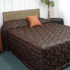 pink colour floral quilted fitted bedspread with pillowshams ... & ... laura copper fitted bedspreads Adamdwight.com