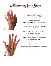 how to measure hand size for gloves 9 inch cuff gloves