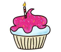 animated birthday cupcakes. Delighful Animated Cupcake Glitter Gifs In Animated Birthday Cupcakes Clipart Library