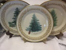 Winter Greetings By Lenox At Replacements LtdLenox Christmas Tree Plates
