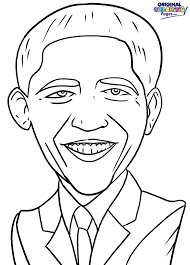 Small Picture Barack Obama Coloring Page Coloring Pages Original Coloring Pages