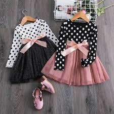 2019 <b>Elegant kids</b> flower <b>baby girls</b> Winter Autumn Dresses <b>Children</b> ...