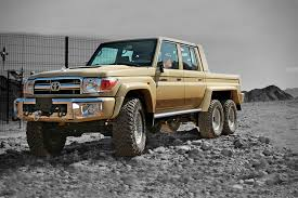 Toyota Land Cruiser 6x6 by NSV | HiConsumption