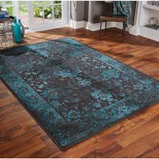 Image Silver Grey Teal Area Rugs Distressed Traditional Overdyed Black Teal Area Rug Multiple Dgq Homes Teal Area Rugs Distressed Traditional Overdyed Black Teal Area Rug