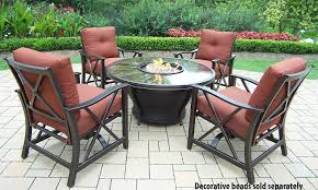 fire pit conversation set firepit tables mosaic cover table with 4 chairs what is a fire pit9