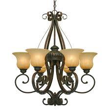 golden lighting chandelier. Golden Lighting 7116-6 LC 6 Light Chandelier E