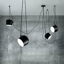 nordic personality diy spider pendant lamp black drum shade pendant drum shade pendant light kit lighting