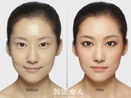 asian makeup makeover before and after natural look