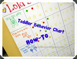 Three Year Old Behavior Chart Tobecontinued How To Make A Toddler Behavior Chart