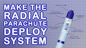 Best Parachute Design For Bottle Rocket Water Rocket Parachute Deploy Mechanism New Version