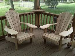 cedar and pine patio furniture