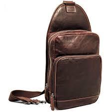jack georges voyager leather sling bag brown shoulder bags all luggage luggage