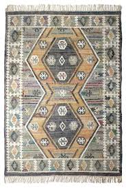 emet olive green and grey patterned floor rug 170x240 cm tropical floor rugs by now s home