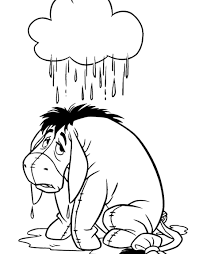 disney coloring pages spectacular inspiration eeyore coloring pages valentine