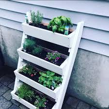 multi tier vertical garden planter box