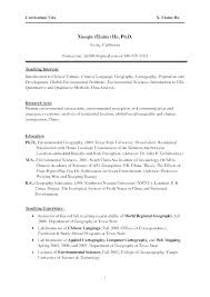 One Page Resume Template Word – Resume Sample Source