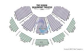 Beaumont Theater Seating Chart Vivian Beaumont Theatre At Lincoln Center Tickets And Vivian