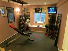 Stylish Home Gym Ideas For Basement And Interior H 3872x2592
