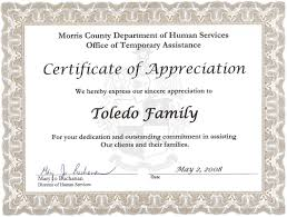 Certificate Of Recognition Wordings Certificate Of Recognition And Appreciation Wording Sample 3078