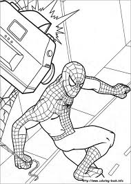 With a little imagination color this spiderman scales walls coloring page with the most crazy colors of your. 30 Spiderman Colouring Pages Printable Colouring Pages Free Premium Templates
