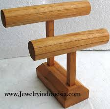 Wooden Jewelry Display Stands Beauteous Jewelry Stands Made Of Wood