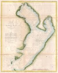 Tide Chart Tampa Bay Fl File 1855 U S Coast Survey Chart Or Map Of Tampa Bay