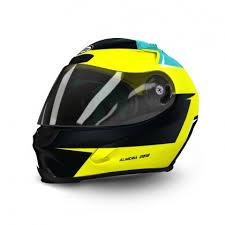 helmet design for motorsports motorbike scooter vintage