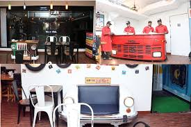 retro look furniture. Industrial Pattern Restaurant Furniture Retro Look
