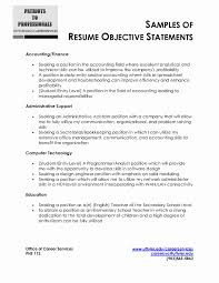 Sample Resume Objective For Hrm Resume Templates Stupendous Format For Ojt Luxury Cover Letter Of 20