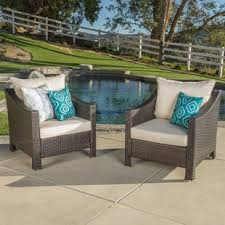 Black and white patio furniture Geometric Garden Quickview Wayfair Patio Furniture Youll Love Wayfair