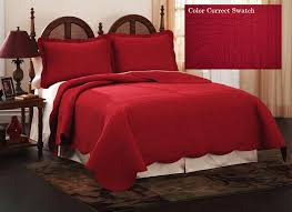 Red Quilted Bedspreads | Quilts, Quilted Bedspread Dusty Blue ... & Red Quilted Bedspreads | Quilts, Quilted Bedspread Dusty Blue French Tile Adamdwight.com