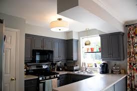 kitchen lighting flush mount round simple installing kitchen within flush mount kitchen ceiling lights